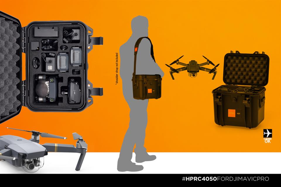 Discover the new cases for DJI Mavic Pro