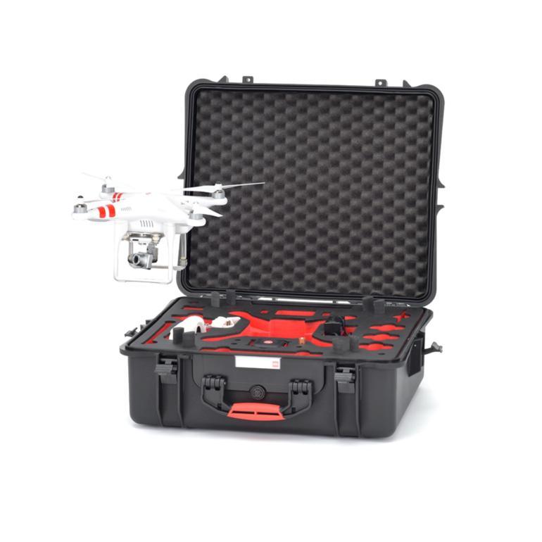 HPRC2700 FOR DJI PHANTOM 2/2 VISION/2 VISION+ - BLACK/RED FOAM