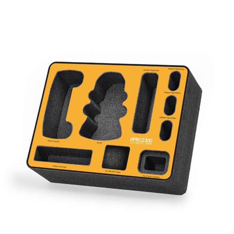 FOAM KIT FOR DJI MAVIC MINI FLY MORE COMBO ON HPRC2300