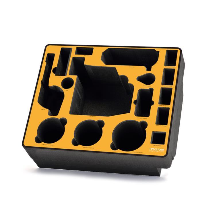 Foam kit for Sony PXW-FX9 on HPRC2700W