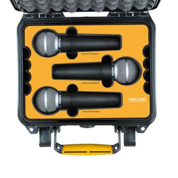 HPRC2250 for 6 Universal Microphones